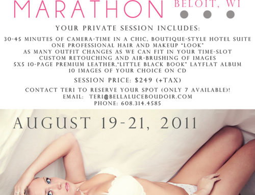 Boudoir Marathon!  ****Reduced Price****